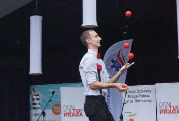 """Reportaż z imprezy """"Żyj mądrze i zdrowo"""". Muszla Praska, 20.07.2014"""