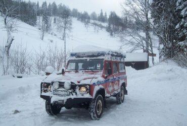 Zima. GOPR, Grupa Wałbrzysko-Kłodzka