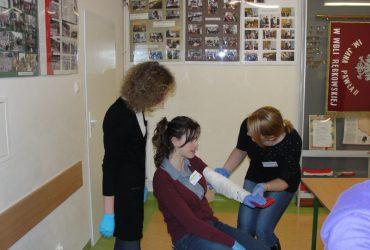 Szkolenie w Gimnazjum Wola Rębkowska