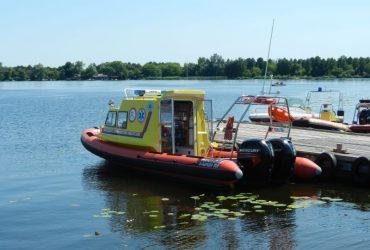 Ambulans wodny, Zalew Zegrzyński