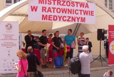 Regionalne Mistrzostwa w Ratownictwie Medycznym. Olsztyn, 5-7.06.13