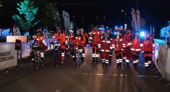 Zabezpieczenie medyczne IV BMW Półmaratonu Praskiego w dniu 2 września 2017