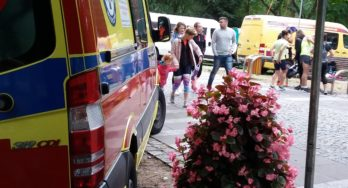 Zabezpieczenie medyczne IV Festiwalu Biegowego na 5, 10 km im. Piotra Nurowskiego w Konstancinie