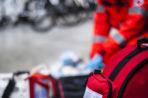 Niebezpieczne zdarzenie w Rowach nad Bałtykiem. Łódź motorowa wywróciła się do góry dnem